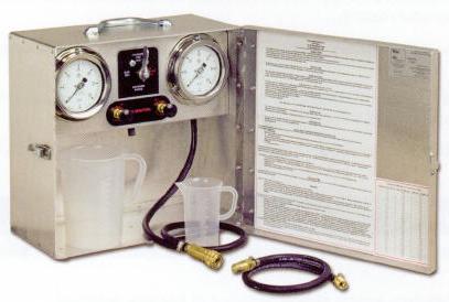 Fuel tank & pump testing