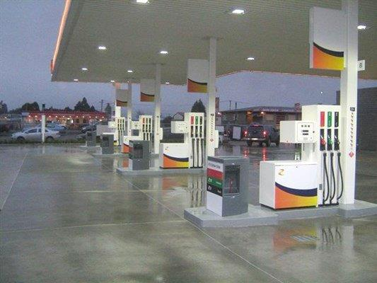 Installation of new service station